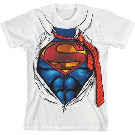 Camiseta Super Homem - Branca