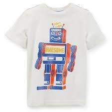 Camiseta Carters - Robo - 4T+