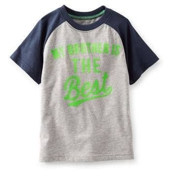 Camiseta Carters - Brother - T4+