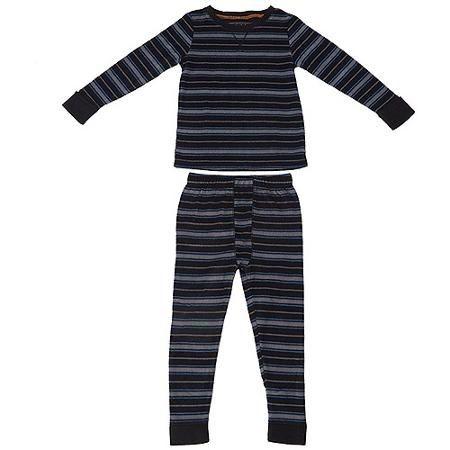 Kit Pijama com 2 peças - Fleece Preto
