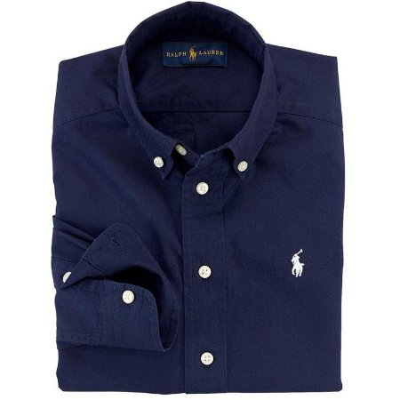 Camisa Infantil Ralph Lauren - Azul Escura