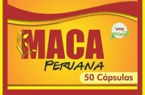 MACA PERUANA 50 cápsulas