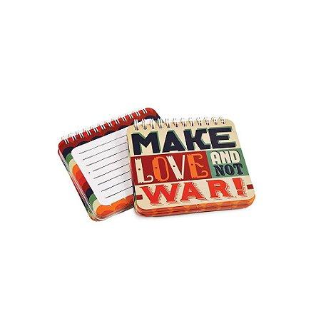Bloco de Notas Wire-O Make Love
