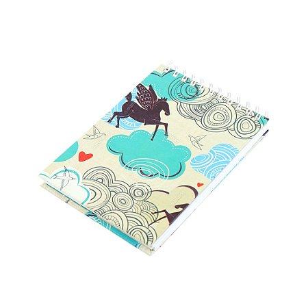 Caderno de Notas Wire-O Sonhos