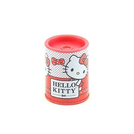 Apontador Metálico Hello Kitty Vermelho