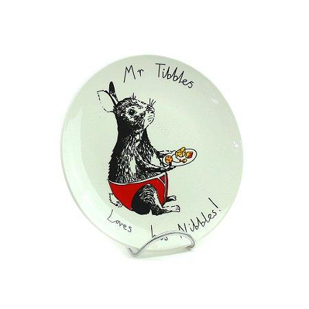 Prato em Cerâmica Snack MR. Tibbles