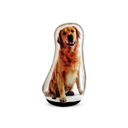 Peso De Porta Cachorro Golden Retriever