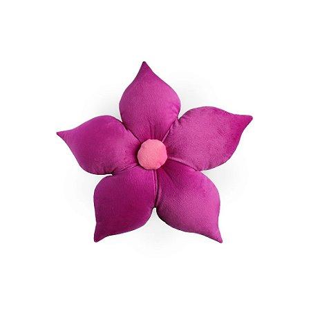 Almofada Flor Lilás
