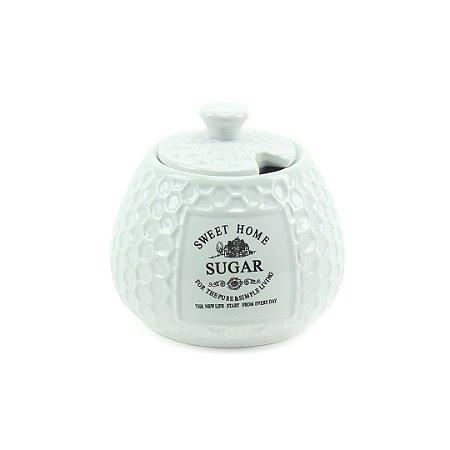 Açucareiro em Cerâmica Sweet Home 300 ml