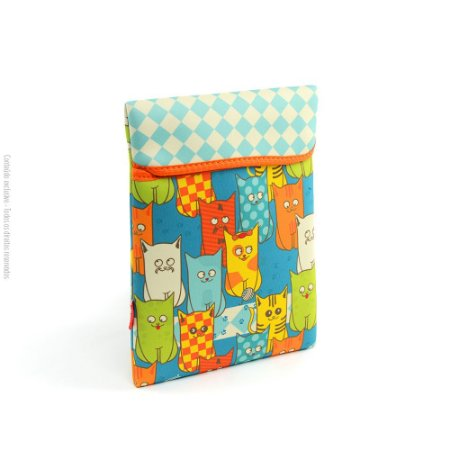 Case para Tablet Cats Gang