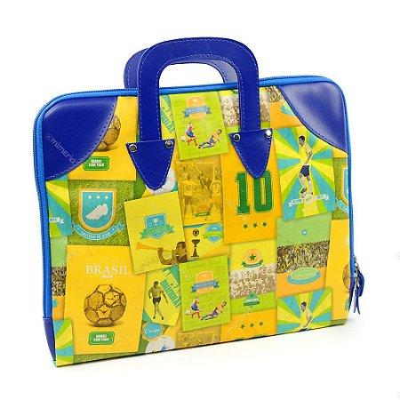 Case para Notebook Brasil do Futebol