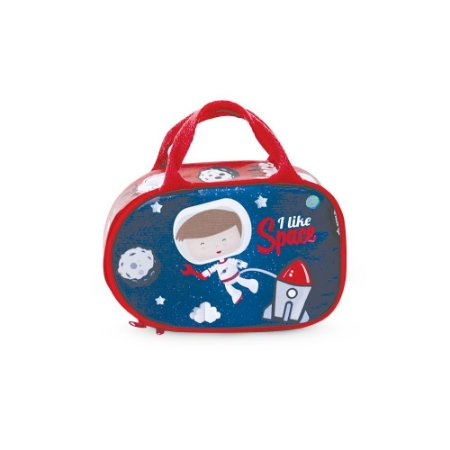Lancheira Térmica Infantil Astronauta