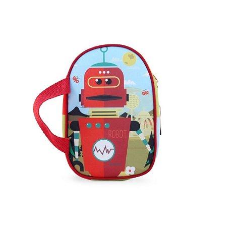 Lancheira Térmica Infantil Robô