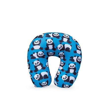 Almofada de Pescoço Panda Blue