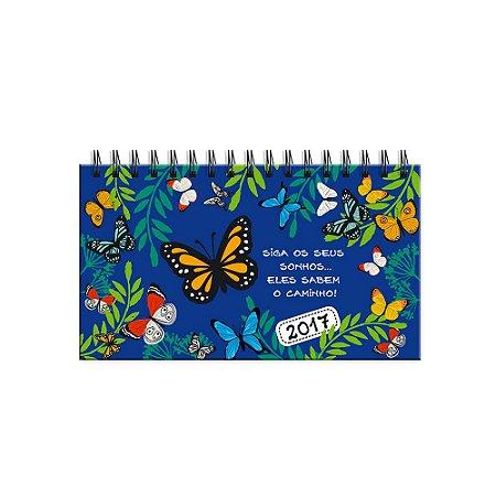 Agenda Mini Borboletas no Jardim 2017