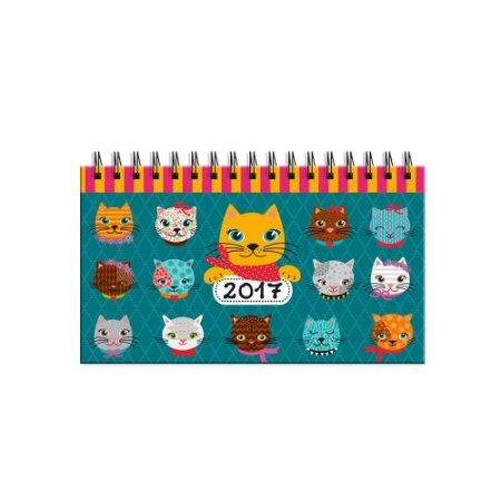 Agenda Mini Gatinhos Divertidos 2017