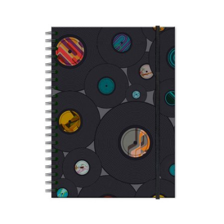 Caderno Universitário Vinil 100 folhas