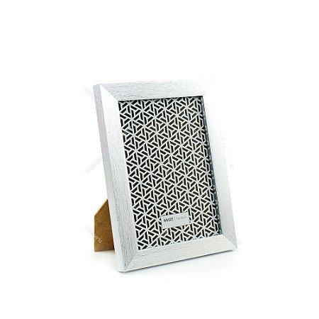 Porta Retrato Prata Escovado 13x18