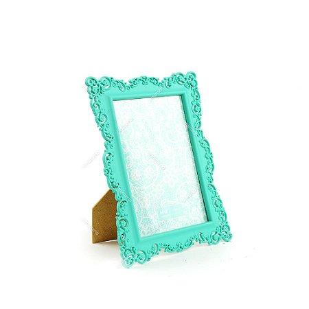 Porta Retrato Ornamentado Verde Candy 13x18