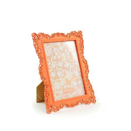 Porta Retrato Ornamentado Coral Candy 13x18
