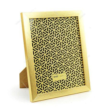Porta Retrato Dourado Escovado 20x25