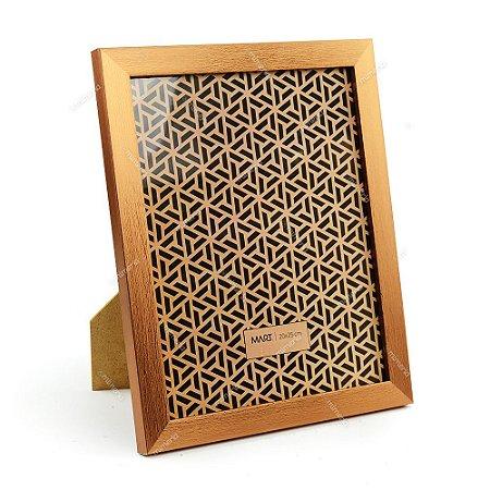 Porta Retrato Cobre Escovado 20x25
