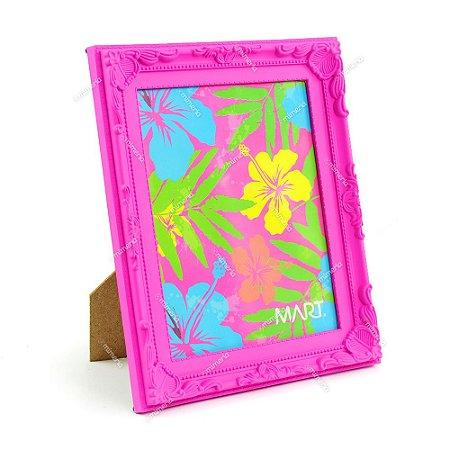 Porta Retrato Vintage Rosa Neon 20x25
