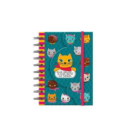 Caderneta Recortada Gatinhos Divertidos