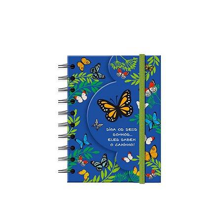 Caderneta Recortada Borboletas no Jardim