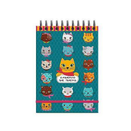 Caderno de Ideias Gatinhos Divertidos