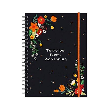 Caderno Universitário Fazer Acontecer 200 folhas