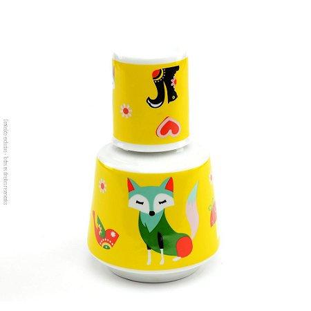 Moringa de Porcelana Raposa Amarela
