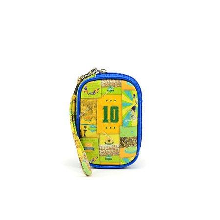 Mini Bolsa de Mão Brasil do Futebol