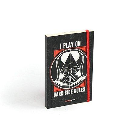 Caderninho de Notas com Elástico Dark