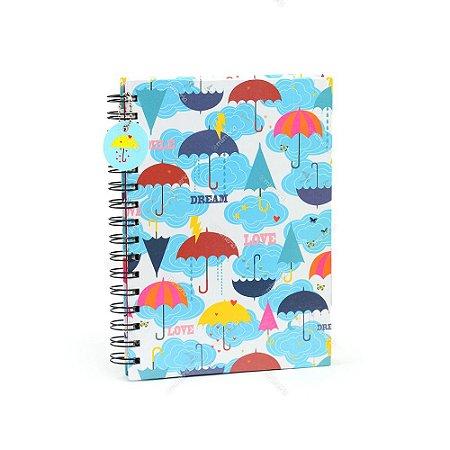 Caderno de Anotações Chove Chuva