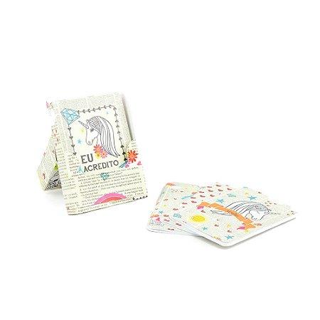 Kit Caderno de Notas Unicórnios Unika