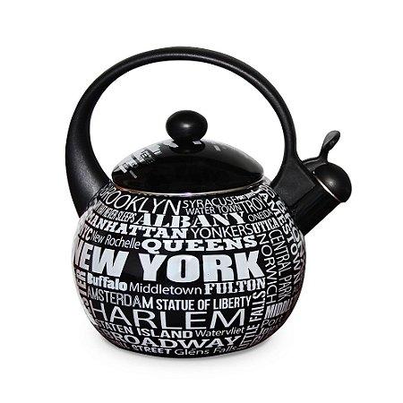 Chaleira New York em Aço
