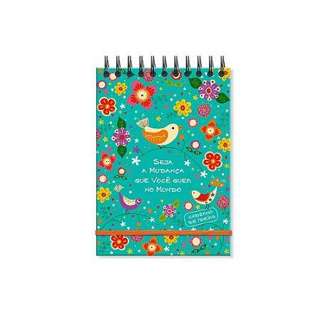 Caderno de Ideias Passarinho Passaredo