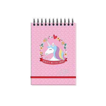 Caderno de Ideias Unicórnio