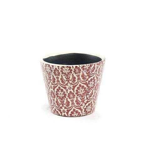 Cachepô de Cerâmica Pequeno Marroquino Marsala