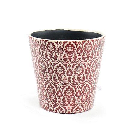 Cachepô de Cerâmica Grande Marroquino Marsala