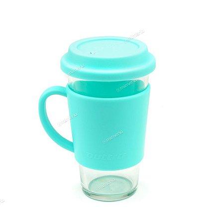 Coqueteleira Shaker em Vidro 500 ml com Alça