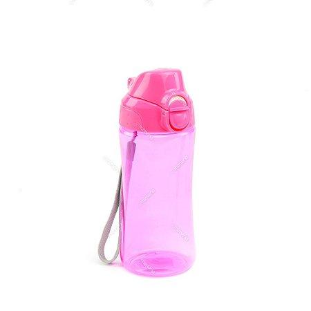 Garrafa Squeeze Rosa 400 ml