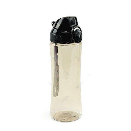 Garrafa Squeeze Preta 550 ml