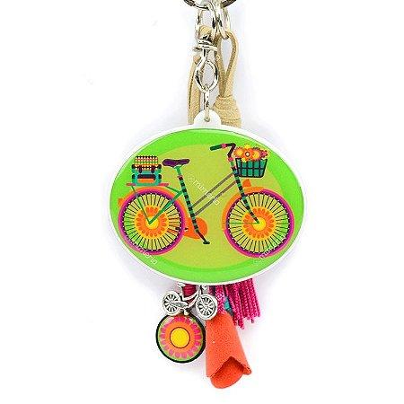 Chaveiro Bike Flores