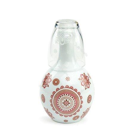 Moringa de Porcelana Bali Rosa 750 ml