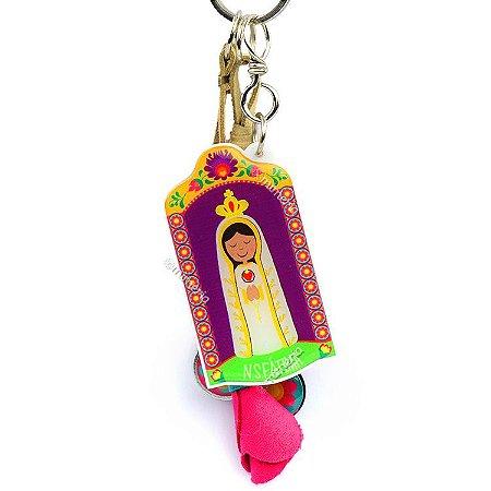 Chaveiro Nossa Senhora de Fátima