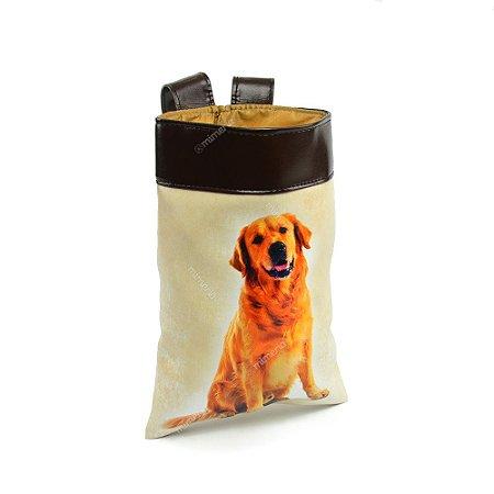 Lixeira de Carro Cachorro Golden Retriever