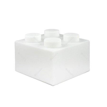 Luminária Bloco de Montar Branco