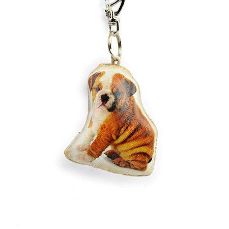 Chaveiro Cachorro Bulldog Filhote